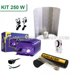 Kit HPS 250W Lumatek + Stucco
