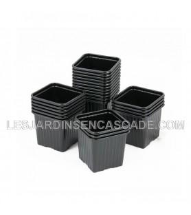 Pot carré 8 x 8 cm