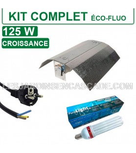 Kit complet 125W Eco-Fluo...