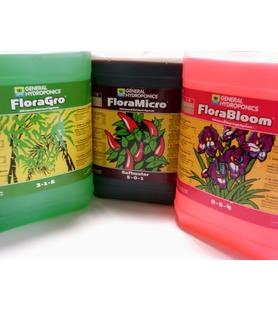 Pack Flora série 3x5L