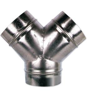 Y de dérivation métal 160 mm